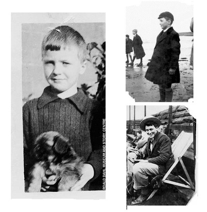 Image result for roald dahl as a boy
